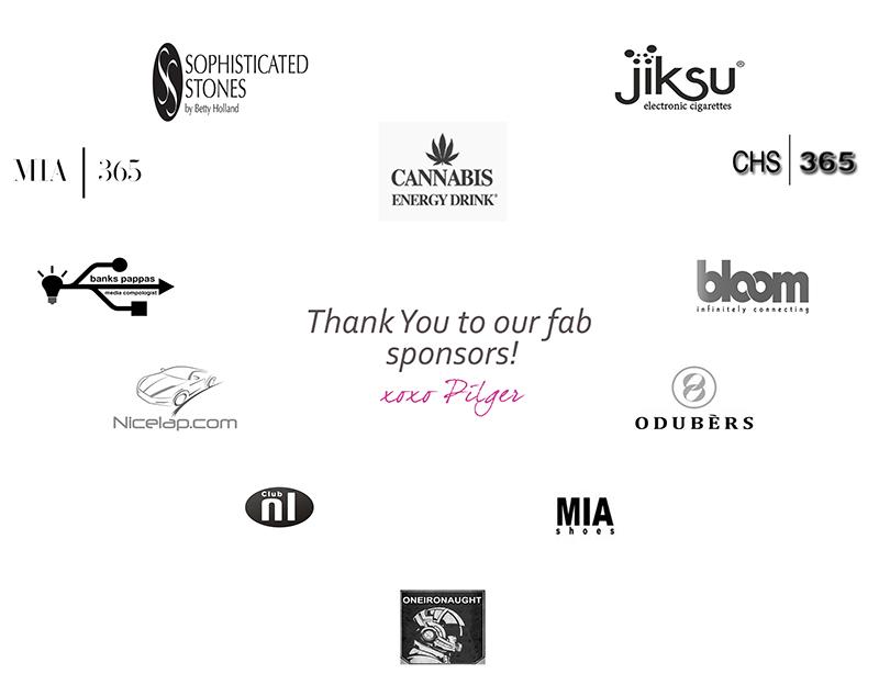Pilger Sponsors Fashion Week