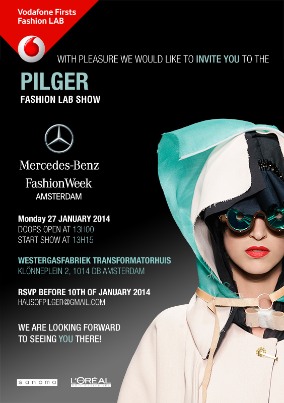 Pilger MBFWA Invitation